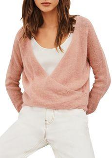 ba&sh Flora Crossover Sweater
