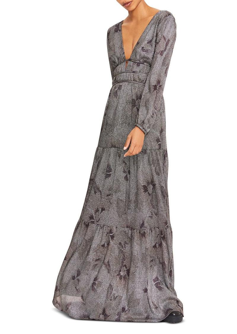 ba&sh Lili Printed Maxi Dress