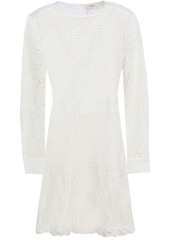 Ba&sh Woman Aphrodite Broderie Anglaise Cotton Mini Dress Ecru