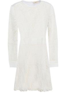 Ba&sh Woman Aphrodite Broderie Anglaise Cotton Mini Dress Ecru