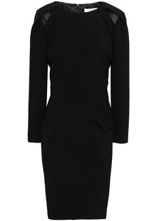 Ba&sh Woman Barbara Cutout Crepe Dress Black