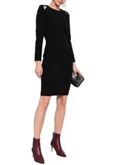 Ba&sh Woman Barbara Cutout Crepe Dress Black