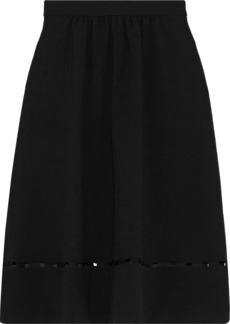 Ba&sh Woman Carmen Cutout Crepe Skirt Black