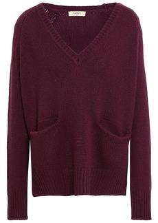 Ba&sh Woman Jackson Cashmere Sweater Merlot
