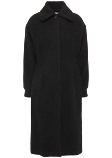 Ba&sh Woman Lagos Wool-blend Coat Charcoal