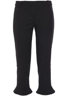 Ba&sh Woman Miguel Cropped Twill Slim-leg Pants Black