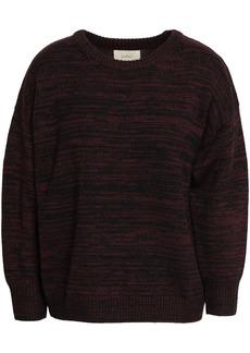 Ba&sh Woman Mélange Wool Sweater Merlot