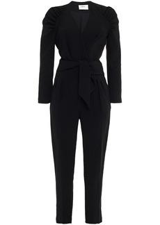 Ba&sh Woman Sher Wrap-effect Crepe Jumpsuit Black