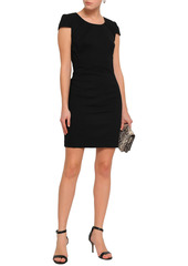 Ba&sh Woman Viggy Crepe Mini Dress Black