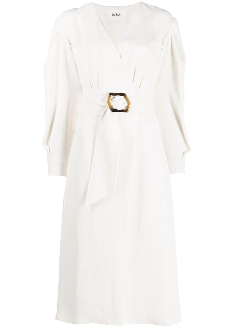 ba&sh Briane wrap dress