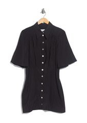 ba&sh Cara Button Front Shirt Dress