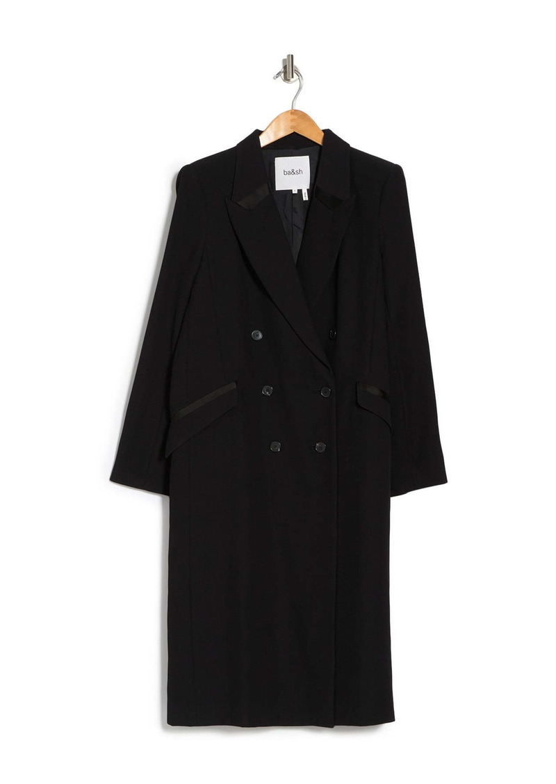 ba&sh Cass Double Breasted Coat