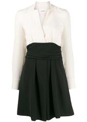 ba&sh Clelia colour-block mini dress
