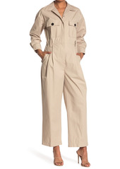 ba&sh Clot Point Collar Jumpsuit