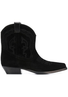 ba&sh Colt textured cowboy-style boots