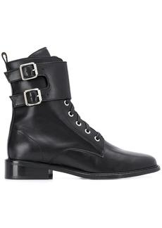 ba&sh Como buckle strap boots