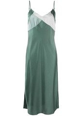 ba&sh Crew colour-block panel dress
