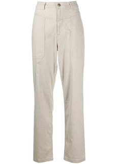 ba&sh Curi straight-leg trousers