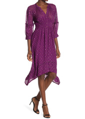 ba&sh Cyana Metallic Dot Dress