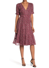 ba&sh Dais Patterned Silk Blend Dress