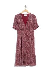 ba&sh Dais Patterned Silk Blend Dress