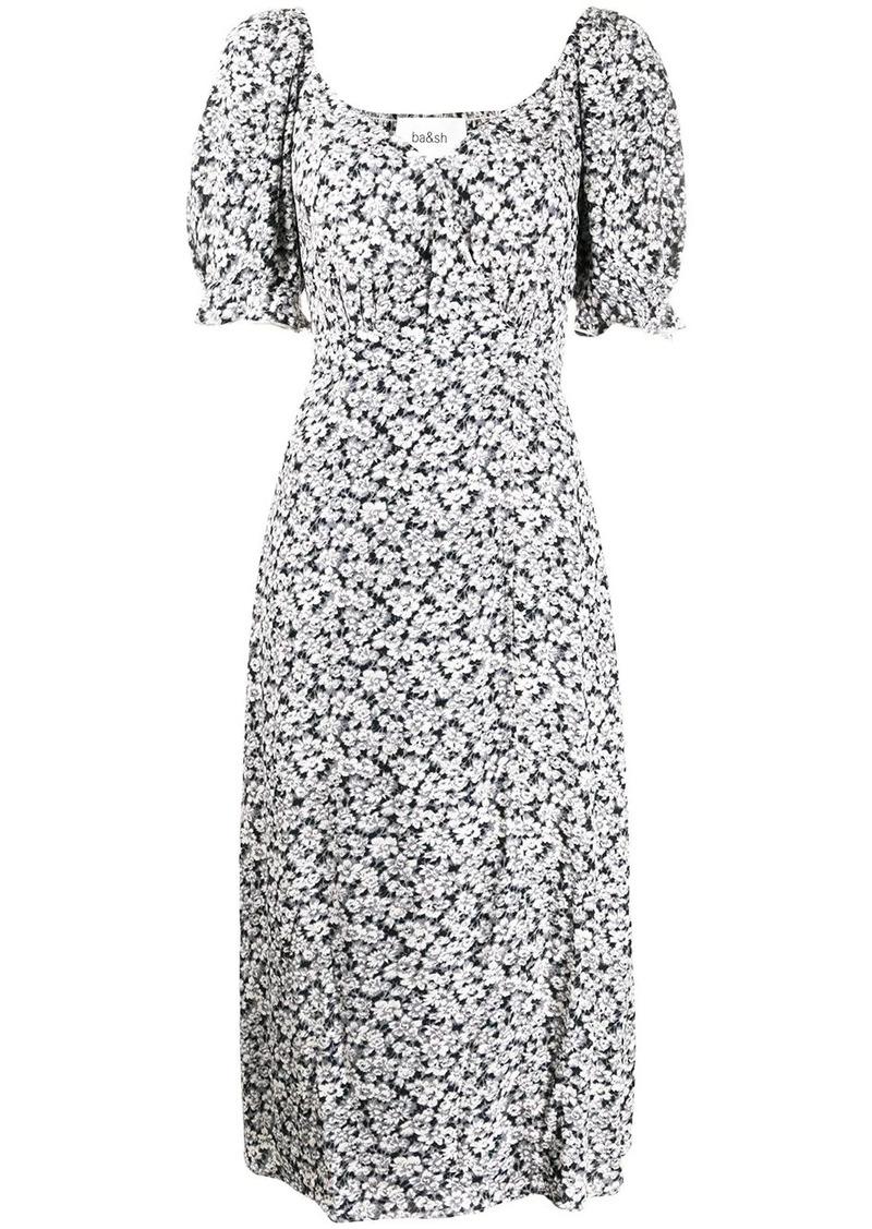ba&sh Eden wrap-style floral dress