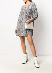 ba&sh Elroy floral shirt dress