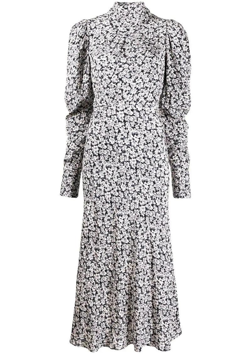 ba&sh Emilie floral midi dress