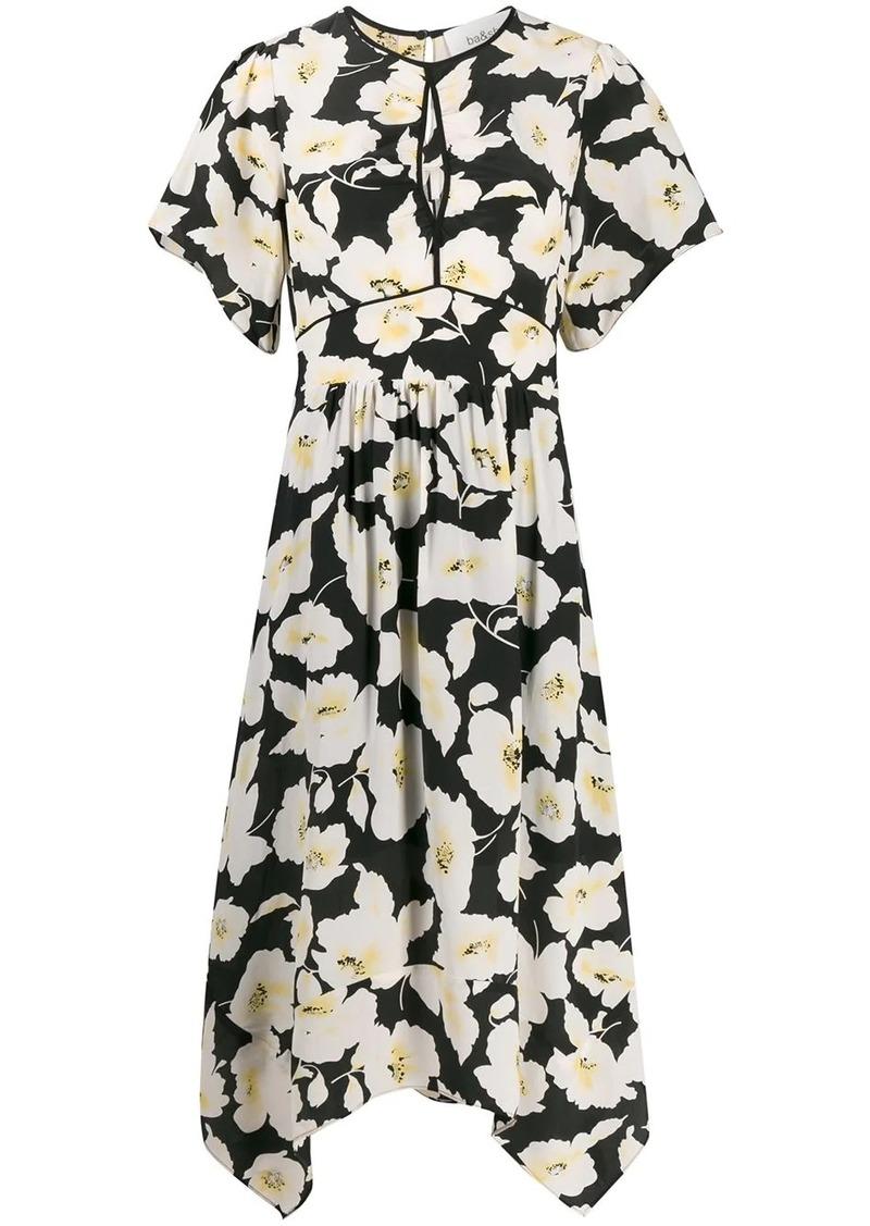 ba&sh Fairy floral-print midi dress