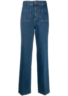 ba&sh flared style trousers