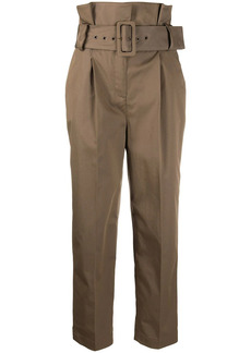 ba&sh Khol cropped belted trousers