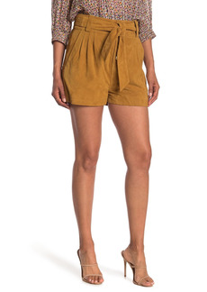 ba&sh Liam Suede Shorts