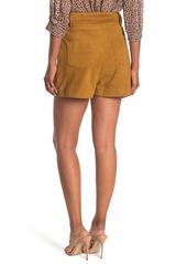 ba&sh Liam Suede Shorts
