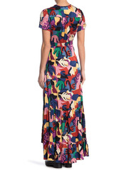 ba&sh Miss Printed Maxi Dress