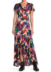 ba&sh Miss Printed Maxi Dress