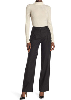 ba&sh Paline Wide Leg Wool Blend Trousers