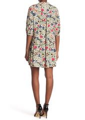 ba&sh Pascou Floral Empire Waist Babydoll Dress