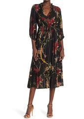 ba&sh Patty Floral Midi Dress