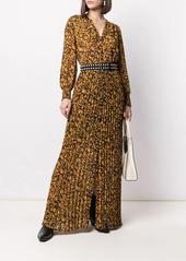 ba&sh pleated Lisi long dress