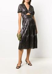 ba&sh Posy geometric-print dress