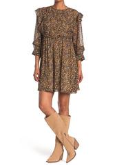 ba&sh Sand Ruffle Trim Dress