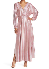 ba&sh Sant Surplice Long Sleeve Dress