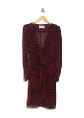 ba&sh Saphir Tiger Print Dress