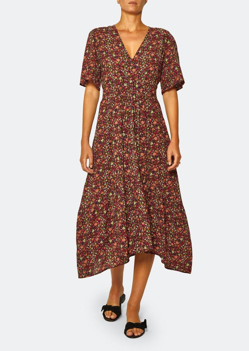 ba&sh Silvine V-Neck Midi Dress - 3 - Also in: 0, 2, 1