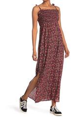 ba&sh Sofia Tie Strap Maxi Dress