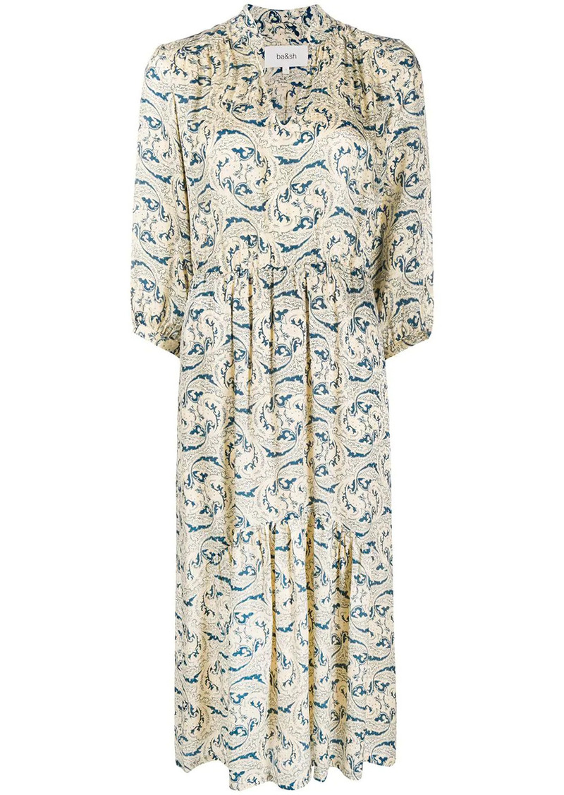 ba&sh Song paisley print dress