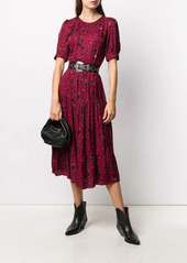 ba&sh Tonya patterned midi dress