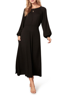 BB Dakota All Day Everyday Long Sleeve Midi Dress