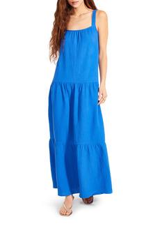 BB Dakota Arianna Sleeveless Tiered Cotton Maxi Dress