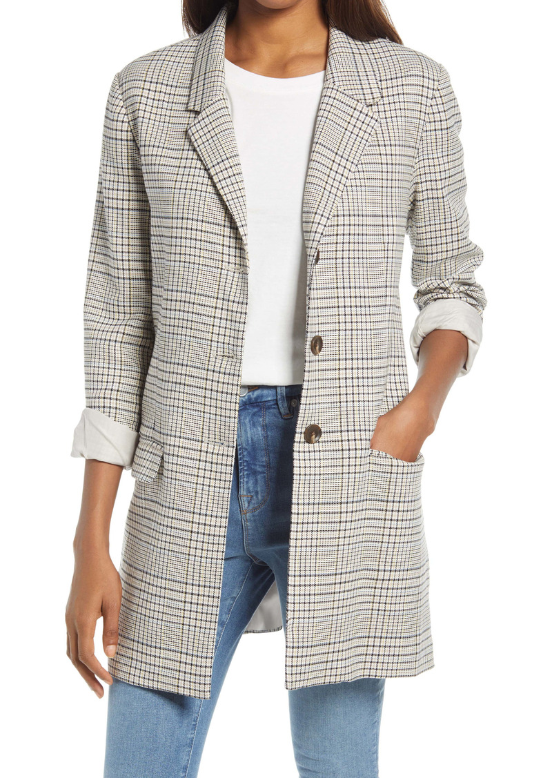BB Dakota Reputation Plaid Jacket